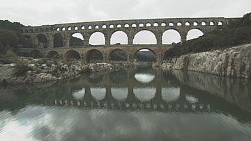 ローマの水道橋 ポン・デュ・ガール