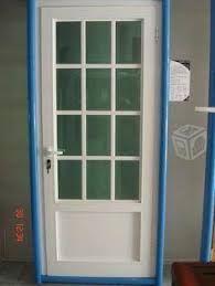 Resultado de imagen para puertas para dormitorio de aluminio de color  negro