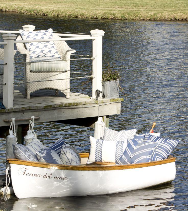 - Royalty Collection - Beach Pillows | Coastal Pillows | Karen Robertson