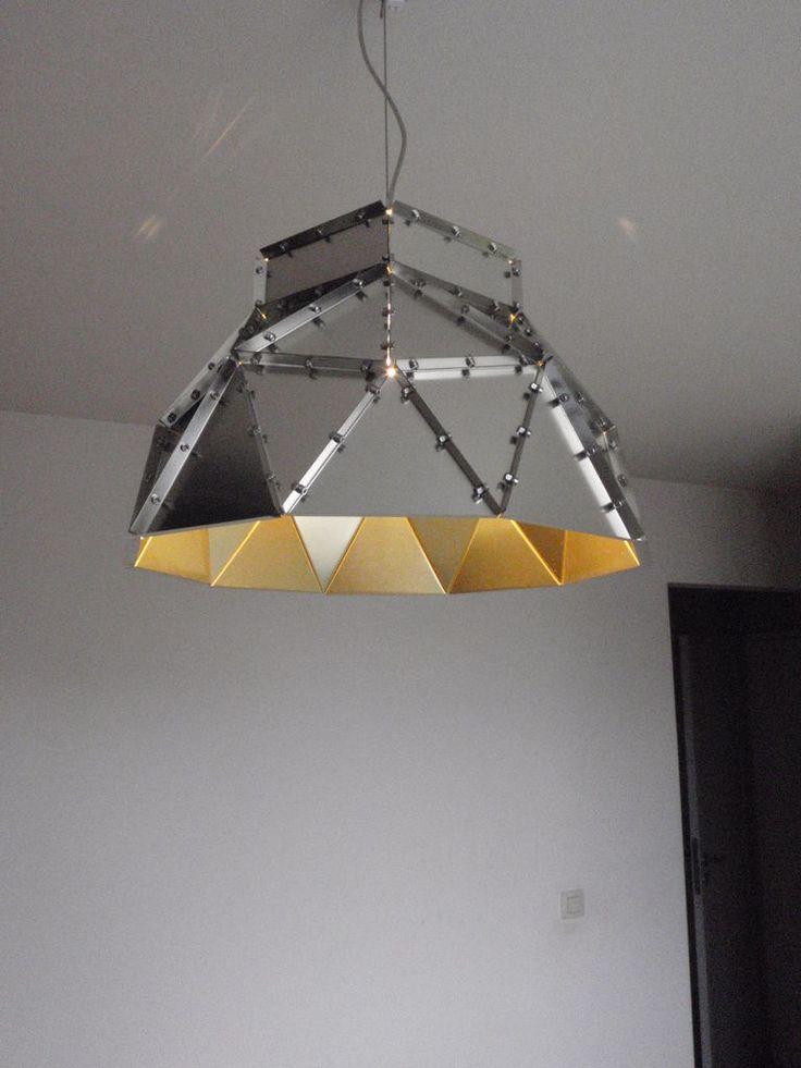 DIY Tinplate Lamp Shade