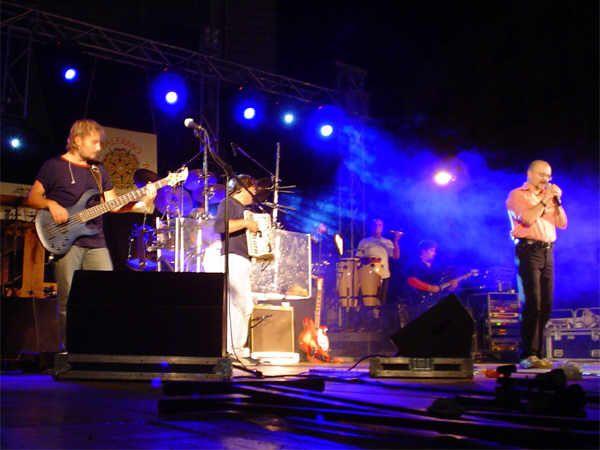 Intervista a Beppe Carletti dei Nomadi prima del concerto di Palermo - 18/08/2003