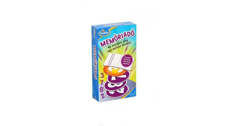 8. helyezett: Memóriadó - a memóriajátékok csúcsa! ;-) #thinkfun #okosodjvelunk
