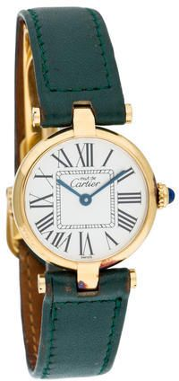 Please click on the picture to go to the detail page.  Cartier Must de Cartier Watch