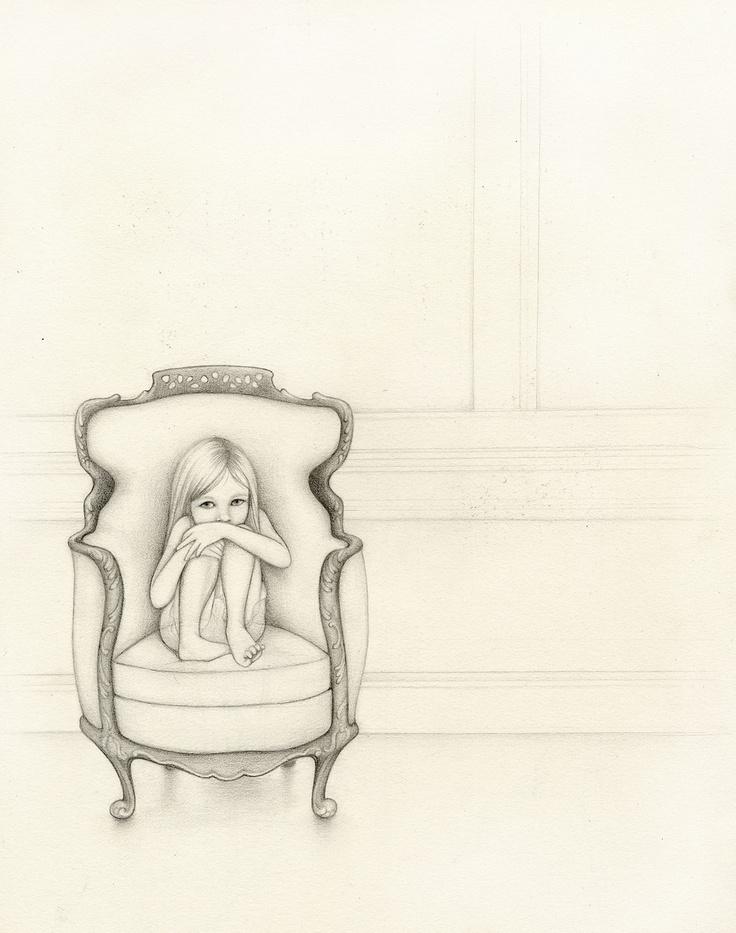 Kirsten Kramer Girl In Chair