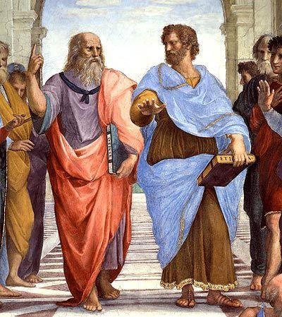 Otro socrático clave fue Platón: A diferencia de Sócrates, que no dejó obra escrita, los trabajos de Platón se han conservado casi completos. Platón fue el primer autor que utilizó el diálogo para exponer un pensamiento filosófico, y tal forma constituía ya por sí misma un elemento cultural nuevo: la contraposición de distintos puntos de vista y la caracterización psicológica de los interlocutores fueron indicadores de una nueva cultura en la que ya no tenía cabida la expresión poética.