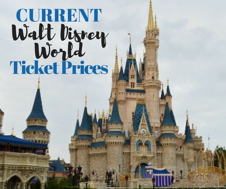 Here is the break down for this year's Walt Disney World Ticket Prices