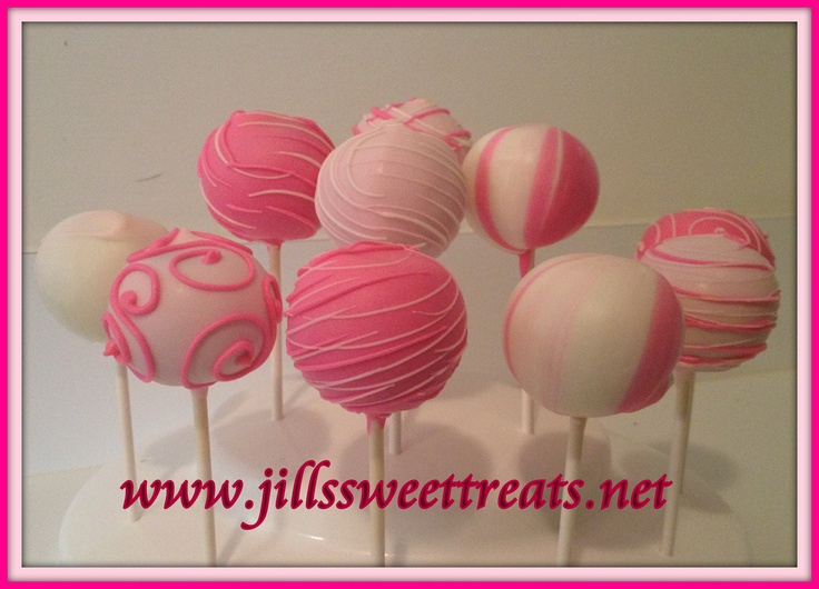 Think Pink Cake Pops.  Have you had your mammogram yet?  October is Breast Cancer Awareness Month.