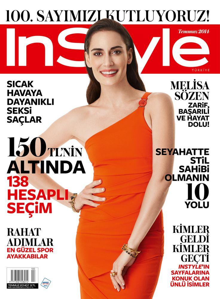 Melisa Sözen - Temmuz 2014 - InStyle 100. Sayı