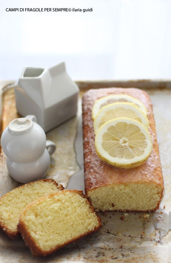 plum cake yogurt e limone