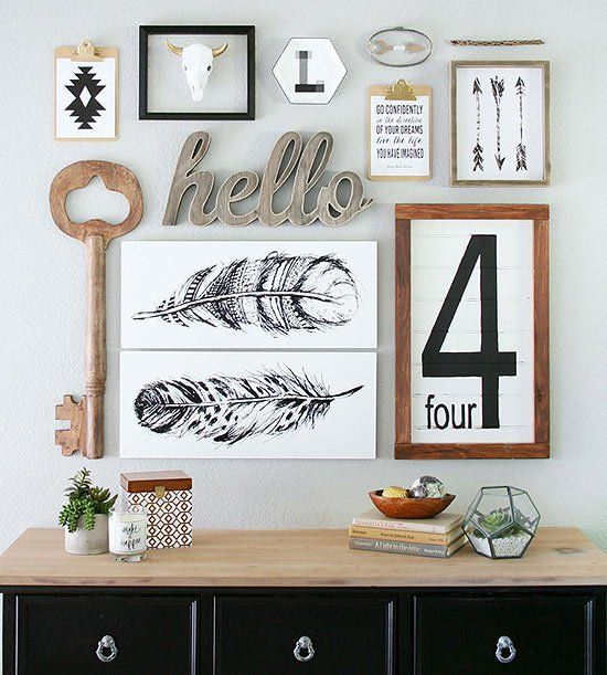 Top 25+ best Gallery wall layout ideas on Pinterest | Gallery wall, Photo  wall layout and Bedroom wall decorations