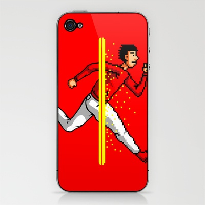 Run Into The 8 Bit World iPhone & iPod Skin by sayahelmi - $15.00