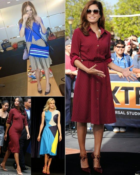 Setting the trend: Midi dresses | Bloc de Moda: Noticias de moda, fashion y belleza
