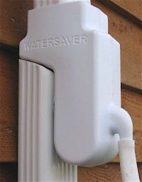 Downspout Diverter for rain barrel.