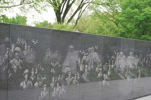 Korean Conflict Memorial.  In honor of my dad who fought in this war.