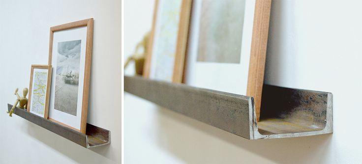loft photo shelf