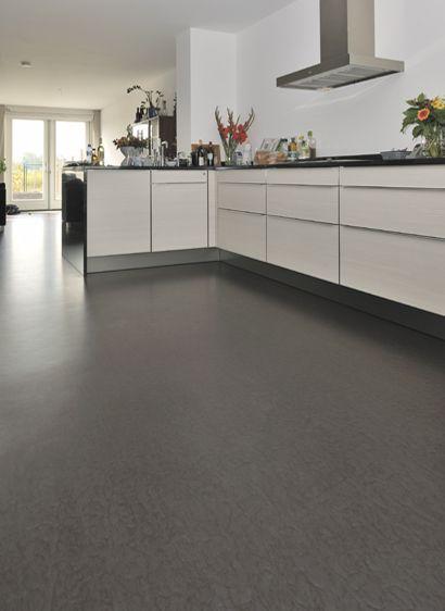 25 beste idee n over linoleum keuken vloeren op pinterest linoleum vloeren verven - Vinyl vloer voor keuken ...
