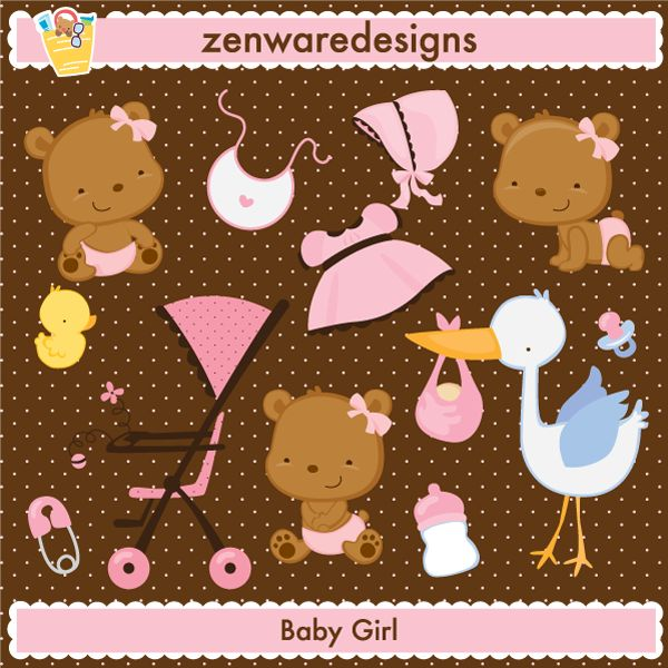 Baby Girl Characters & Icons