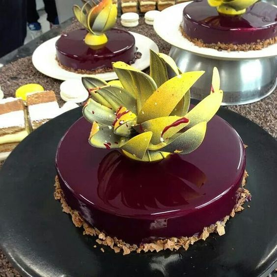 Chef Diego lozano made brasil entremet