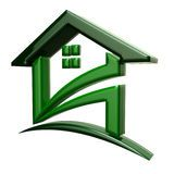 Green House Logo for sale Stock Image