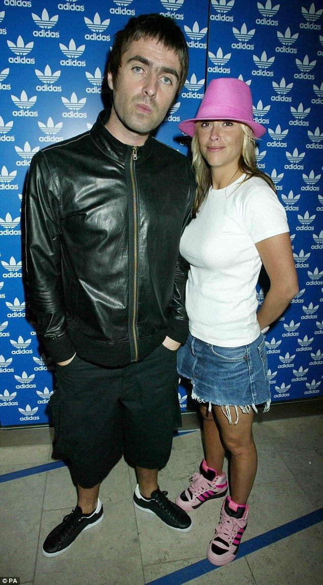 Past romance: Liam was previously married to All Saints singer Nicole Appleton...