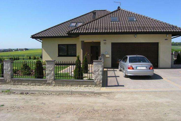 Front domu Natalia #natalia #projekt #dom