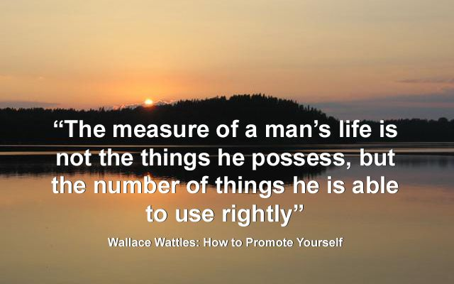Inspirational Wallace Wattles Quotes
