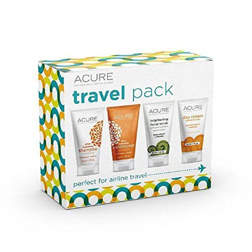 ACURE Essentials Travel Size Kit Shampoo Conditioner Day