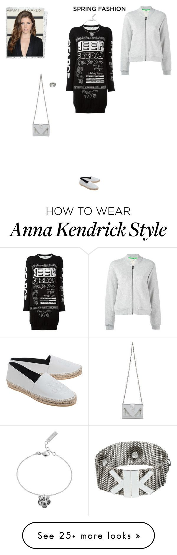 """""""#7576 - Kenzo"""" by pretty-girl-in-fashion on Polyvore featuring Kenzo, kenzo and springfashion"""