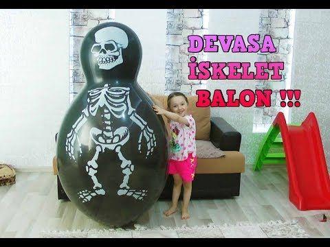 Devasa İskeletor Balon !!! Öykü Yanında Kayboldu - Sürpriz Paket Oyuncaklar