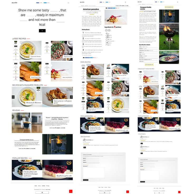 Marmalade - Modern Food Blog Theme | #food #blog #theme | get it here: https://themeforest.net/item/marmalade-modern-food-blog-theme/19383857?ref=dronestarstudio