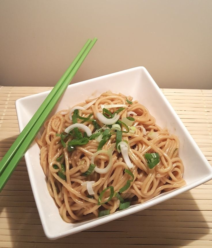 Pressure Cooker Simple Sesame Noodles - To make LC - steam Zucchini noodles until hot instead of chinese egg noodles; use Swerve or Sweetener of choice, to taste, instead of sugar in the sauce.