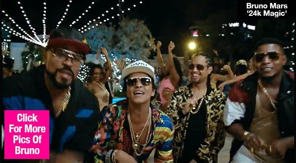 Bruno Mars Drops Insanely Catchy New Song & Music Video — Watch '24k Magic'