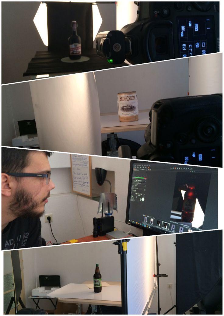 Behind The scenes Pivovary nova Paka shooting.