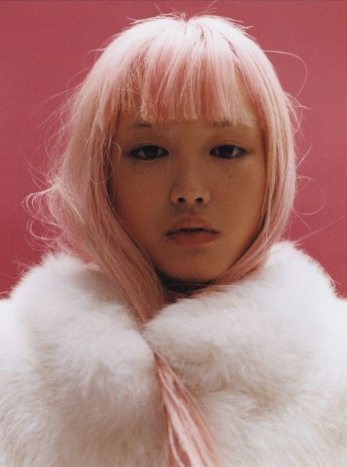 moldavia:  Fernanda Ly in Self Service F/W 2015 by Harley Weir