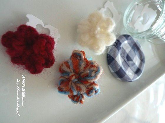 可愛い留め具♪(バッグ・クロージャーのリユース)の作り方 編み物 編み物・手芸・ソーイング 作品カテゴリ アトリエ