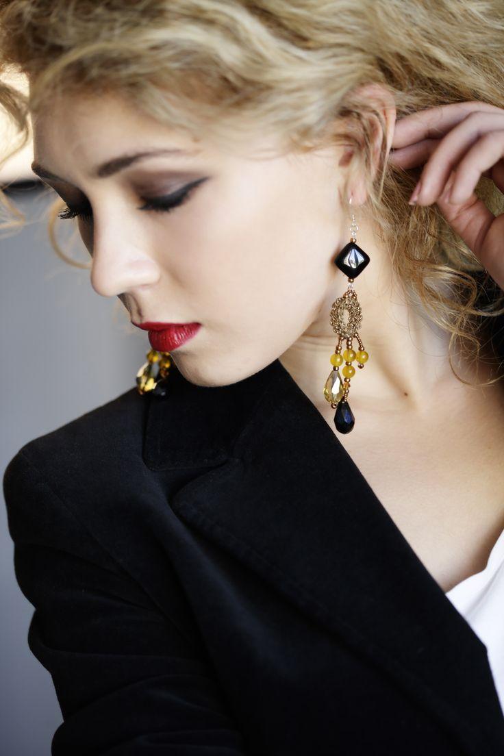 Precious Chains earrings