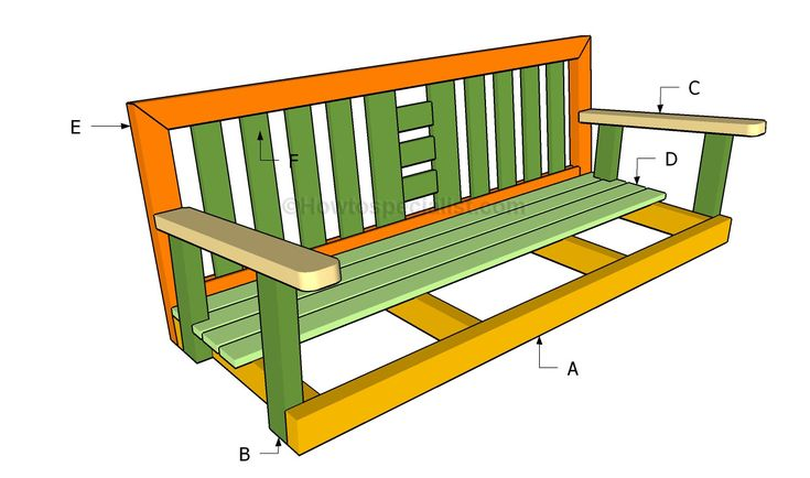 Building the porch swing
