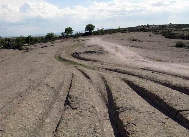 Acaso una civilización ancestral condujo tanques sobre Turquía hace 14 millones de años?