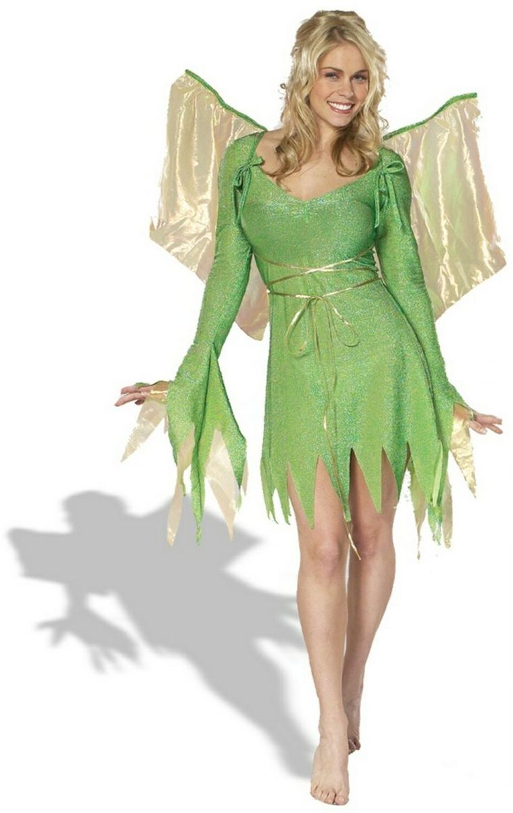 Diy tinkerbell costume women