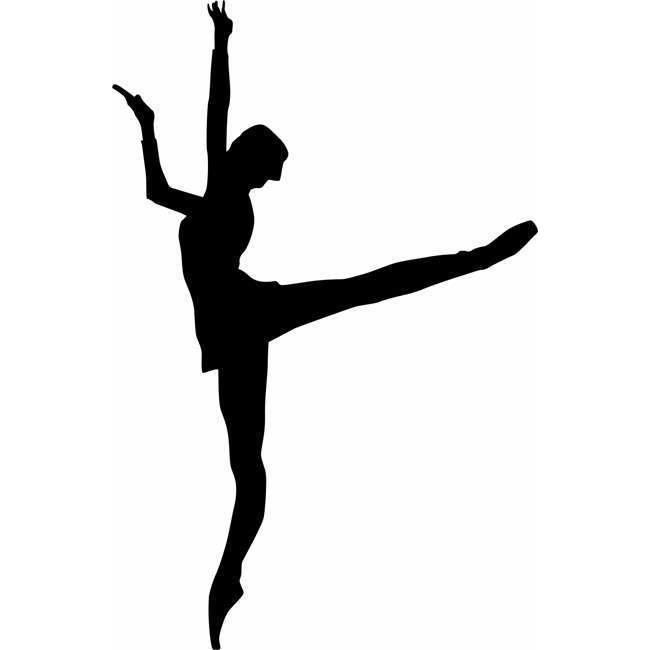 Ballet Dancer Wall Stencils In 2020 Ballet Dancers Dancer Ballet