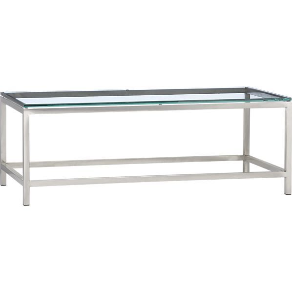Era Rectangular Glass Coffee Table | Home Interior | Coffee ...