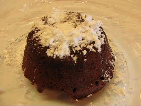 Betty's Perfect Chocolate Volcano Cake - YouTube