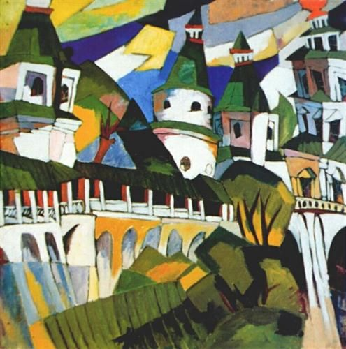 Churches - Aristarkh Lentulov