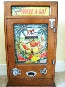 Old Time, Vintage Penny Slot Machines To Hire For Your Fun Fair or Event.