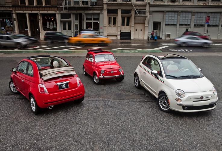 Gammal vs ny Fiat 500