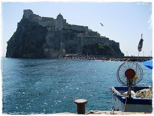 Castello Aragonese, Ischia island, Neaples (Italy)