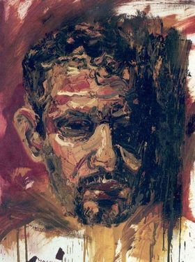 "Saatchi Online Artist Masri Hayssam; Painting, ""Self portrait -2005- SOLD-"" #art"