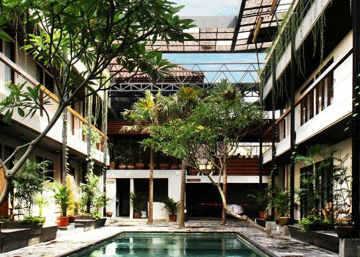 Balii  ogrody na dachu bloków