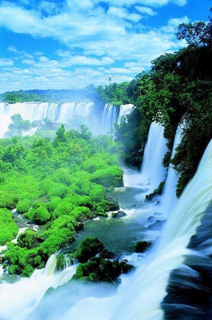 Iguazu Falls in Argentina/Brazil