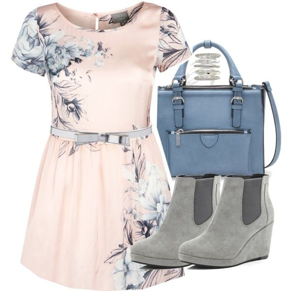 """""""Lydia Inspired Outfit with a Pink Dress"""" by veterization on Polyvore"""